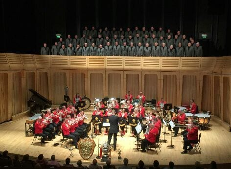 Cory Band and Treorchy Male Choir